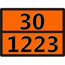 """30-1223 (КЕРОСИН) Табличка рельефная """"Опасный груз"""" 400*300мм"""