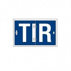 TIR табличка складная 400х250х1,0мм