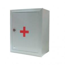 Аптечка первой помощи работникам  ПРОИЗВОДСТВЕННЫХ ОРГАНИЗАЦИЙ И ПРЕДПРИЯТИЙ (металлический шкаф)