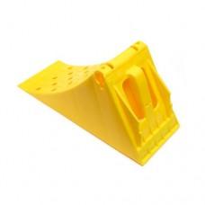 Упор противооткатный (471х201х225), желтый